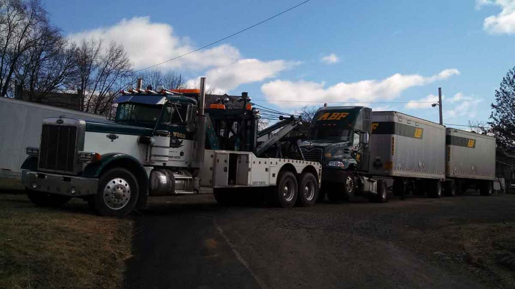 Towing services offered